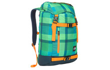 The North Face Pre-Hab krypton green plaid